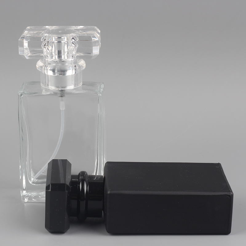OEM/ODM Factory 30ml Square Glass Perfume Bottle -