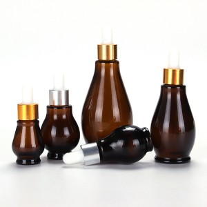 10ml 20ml 30ml 50ml 100ml China supplier amber cosmetic spray bottle essential oil glass dropper bottles