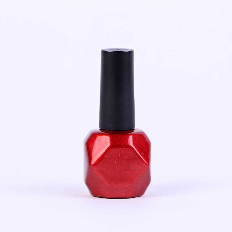 Red lacquer uv 15ml 0.5oz luxury glass empty nail polish bottle for oil Featured Image