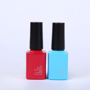 12ml 13ml wholesale charms red opi empty square uv gel polish nail bottle