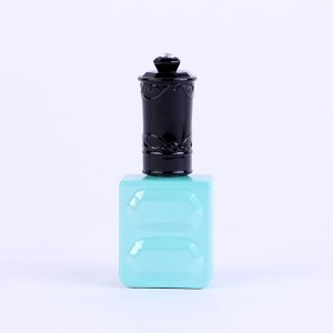 15ml private label empty uv gel nail polish bottle with brush wholesale