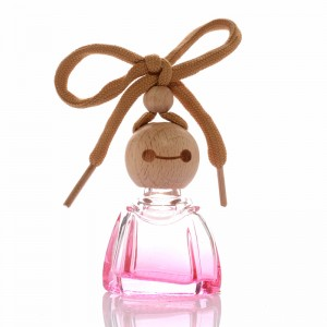 10ml New empty hanging car air freshener car perfume bottle glass