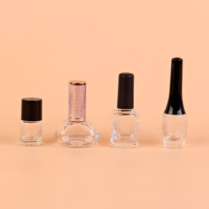 14ml 15ml 16ml factory clear large empty uv gel nail polish bottle glass wholesale