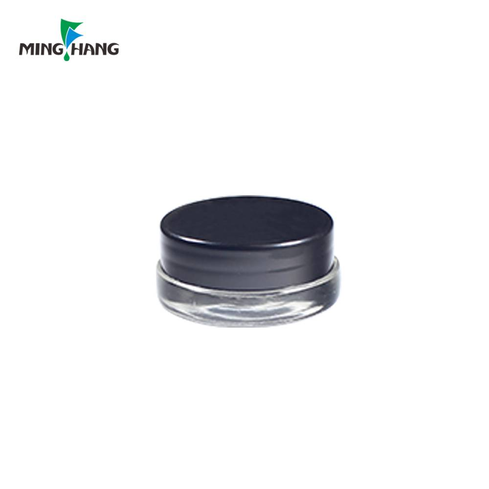 3g 5g 7g empty cosmetic sample packaging container glass eye cream jar