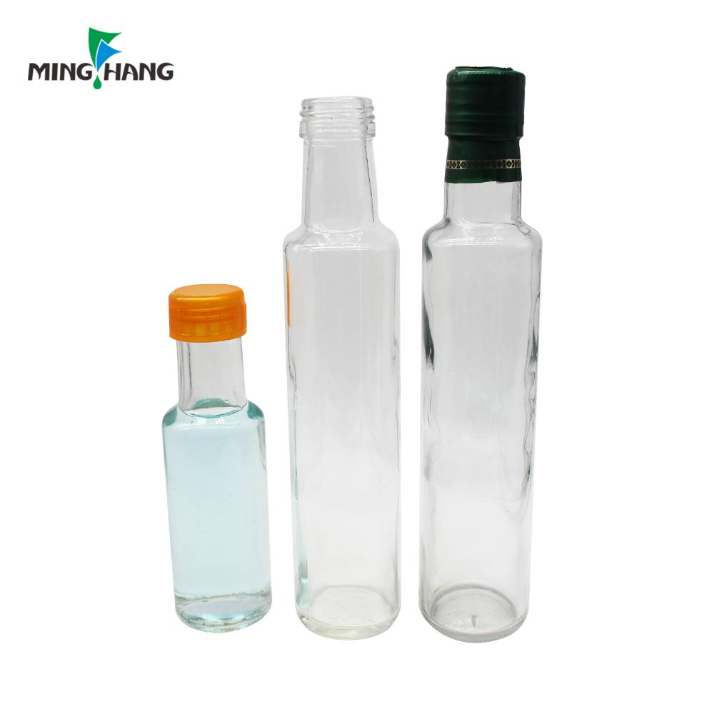 50 – 1000 ml Clear empty glass olive oil bottle / cooking oil glass bottles for sale