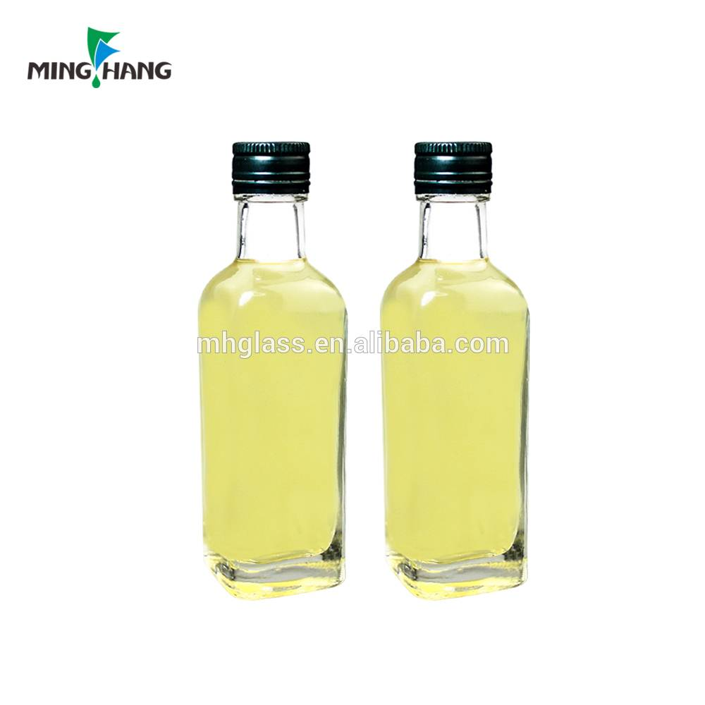 100ml cheap extra virgin glass olive oil bottle