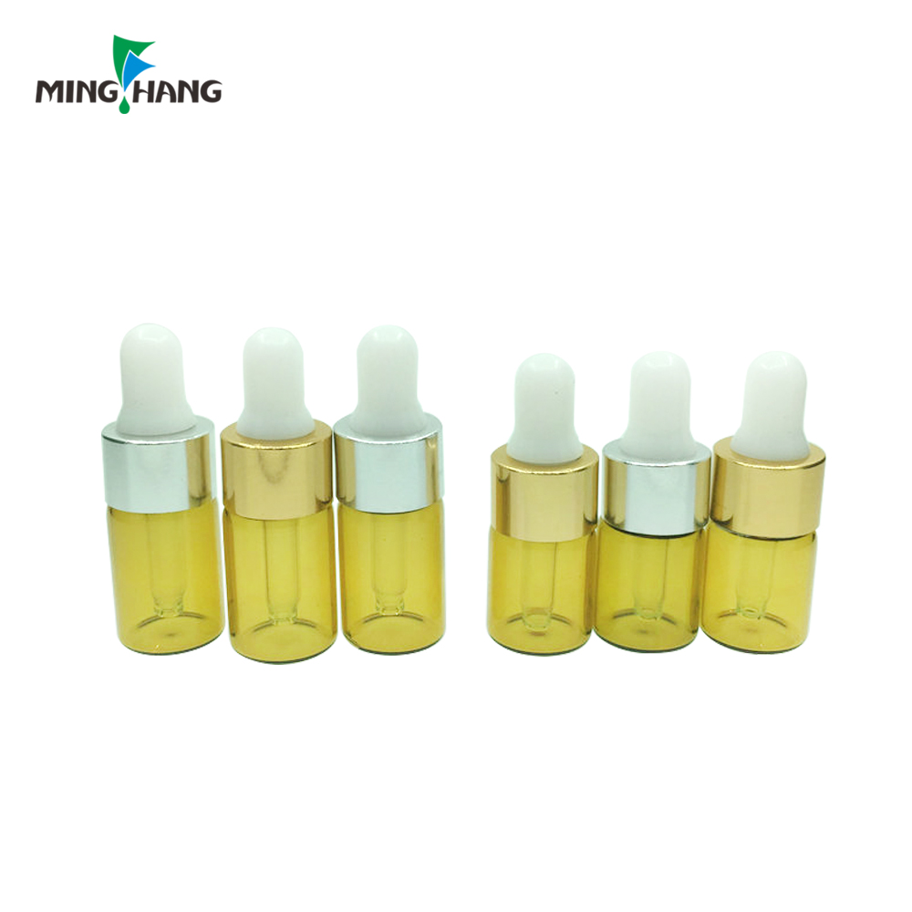 Essential oil sample bottle screw tube bottle wholesale perfume test vial