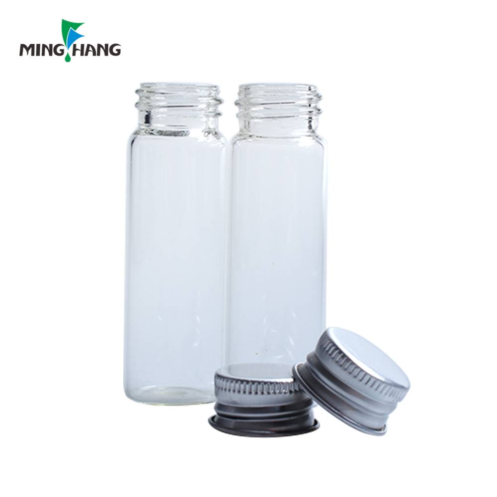 wholesale 10ml test tube glass medical bottle sample vial with screw cap