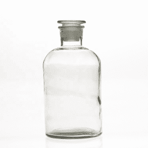 reagent glass bottle clear 1000ml laboratory