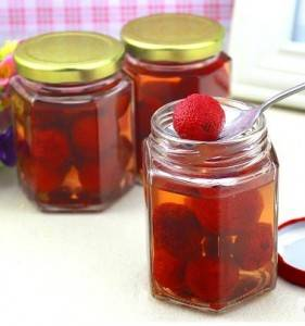 Glass canning jam jar with lids 500ml 750ml wholesale