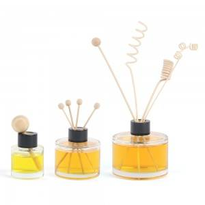 Empty reed diffuser glass bottle 50ml 100ml 200ml wholesale