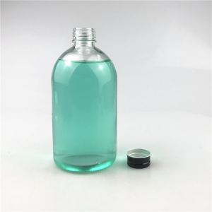 transparent 500ml soda water beverage bottle fruit juice glass bottles suppliers