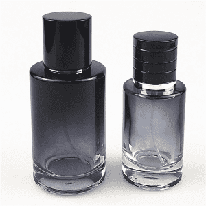 wholesale round shape 100ml 50 ml 30 ml perfume glass bottle with spray