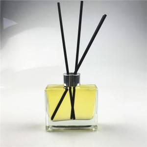 100ml empty glass air freshener bottle for reed diffuser