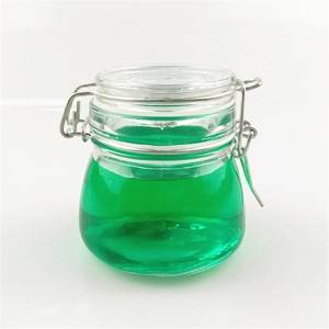 150ml air tight glass jar storage
