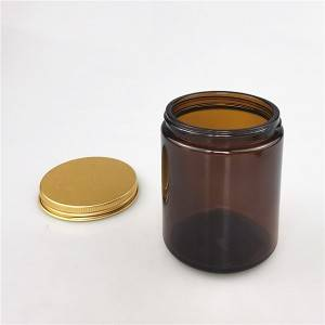 100ml amber glass jars for candle making