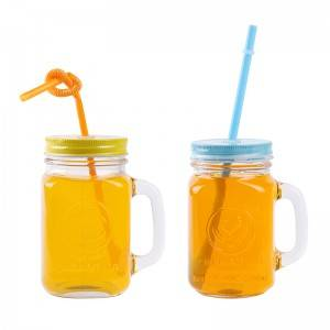 16oz clear glass drinking mason jar wholesale