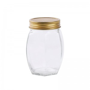 350ml kitchen storage jar glass