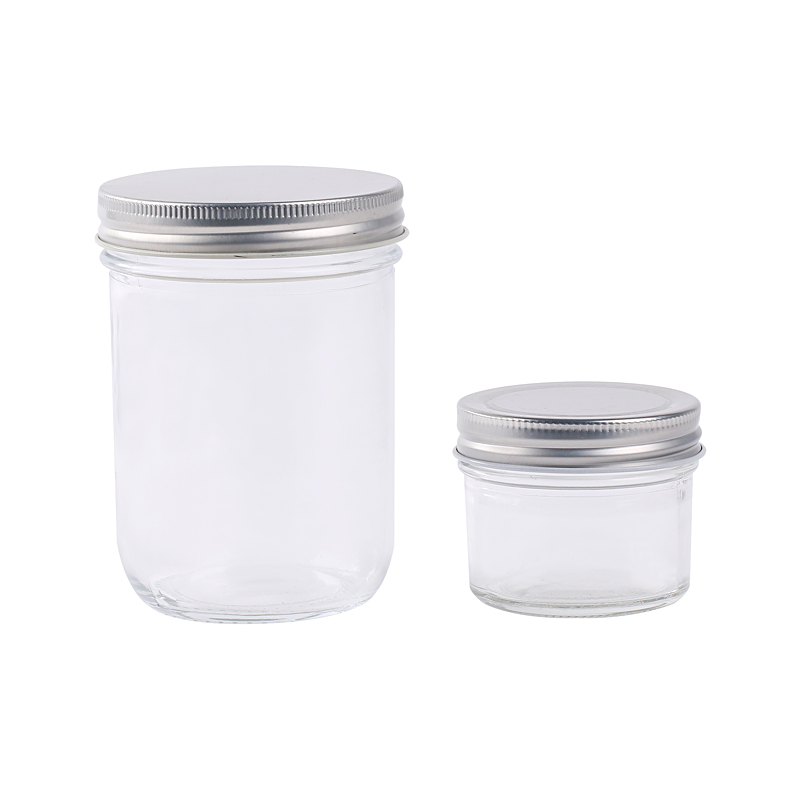 100ml 400ml empty glass jars containers for food