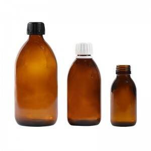 200 ml oral liquid medicine cough syrup glass bottle sizes