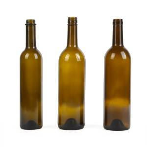 wholesale 750ml glass bottle for liquor