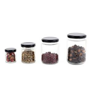 Wholesale Glass Food Storage Jar With Lid
