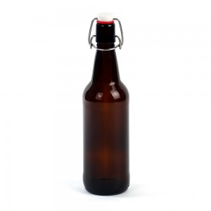 500ml Amber Glass Swing Top Beer Bottle Airtight Flip Top Home Brew Wine Bottles