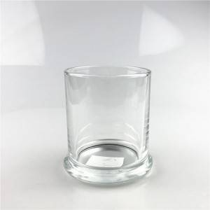 350ml glass storage jar candle jar