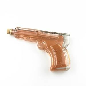 vodka glass gun pistol wine bottle