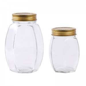 350ml 700ml honey glass jar