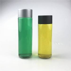 Drinking natural water glass bottle 250ml 375ml 400ml 500ml 800ml