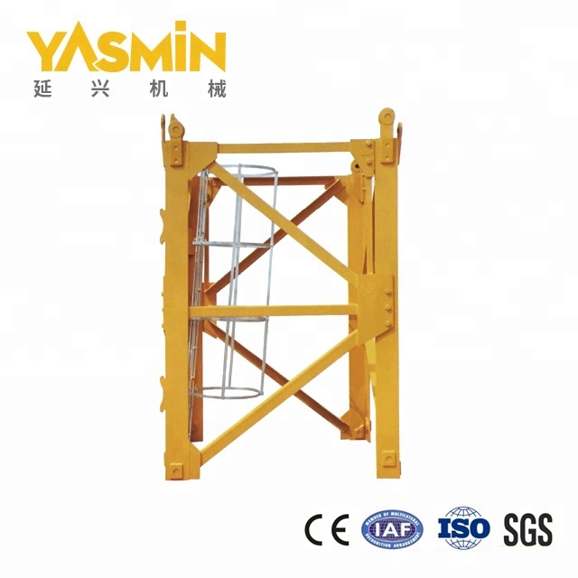 China L68a1 Mast Section For Potain Tower Crane Manufacturers And Suppliers Yanxing
