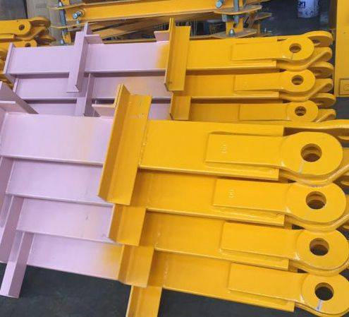 China 2019 High Quality 10t Tower Crane Potain Tower Crane Parts L68 Telescoping Climbing Cage Yanxing Manufacturers And Suppliers Yanxing