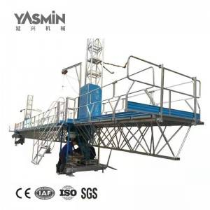 Mast Climbing Working Platform For Construction Maintenance
