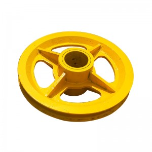 Rope Pulley For Tower Crane Spare Parts