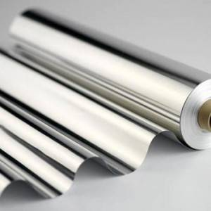 OEM Factory direct price household aluminum foil roll for food wrap roll 9mic