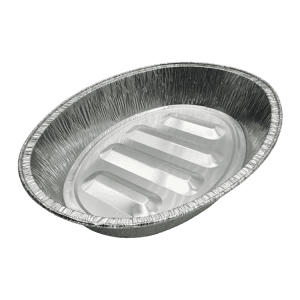 factory Outlets for Aluminium Utensils Cookware - 7500ml Aluminum Foil Oval Roaster Pan – Yutai