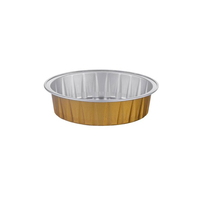 Kitchen Use Round Color Aluminum Foil Cookie Cup With Lid Featured Image