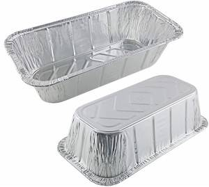 3.3lbs Rectangular Aluminum Foil Loaf Pan For Baking
