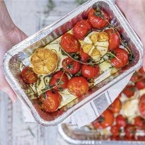 750ml Rectangular Aluminum Foil Take-away Food Container