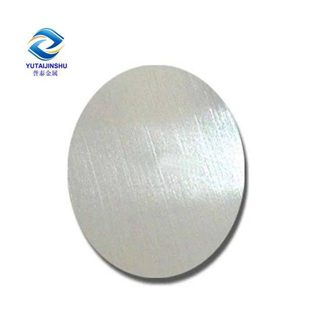 Wholesale China manufacture aluminum alloy sheet circle 7075
