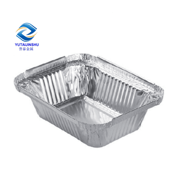 Best-Selling 1050 Ivory Coated Aluminum Coil - Various Sizes of Heavy Duty Rectangle Aluminum Foil Food Containers Trays – Yutai