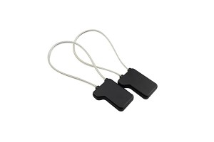 as014 EAS RF/AM self-alarmin tag with lanyard for shoplifting