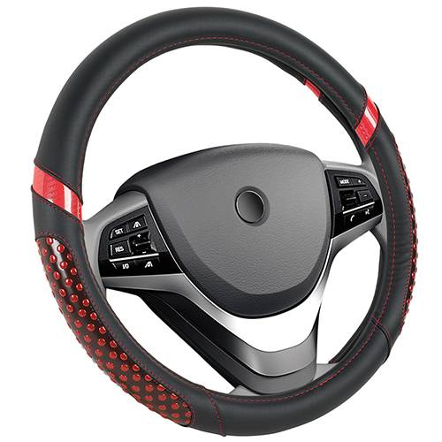 Fashion Style Steering Wheel Covers PU