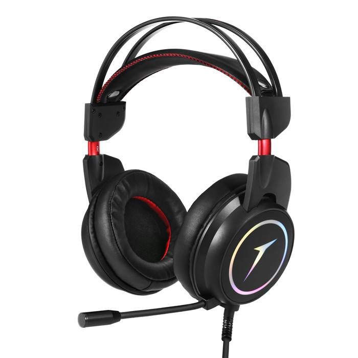 China G40 Gaming Headset For Ps4 Xbox One Headset With 7 1 Surround Sound Stereo Noise Cancelling Mic Memory Foam Ear Pads Rgb Light Over Ear Headphones For Pc Laptop Factory And Manufacturers