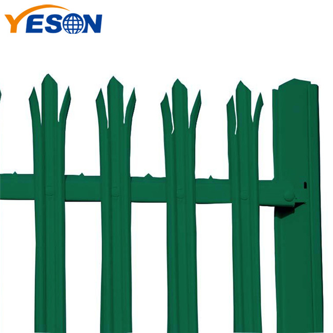 Chinese wholesale Galvanized Palisade Fencing - palisade security fence – Yeson