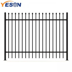 Manufacturer of Simple Wrought Iron Gate - spear top Fence – Yeson