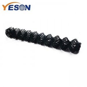 New Fashion Design for Chain Link Metal Fence - chain link fencing black – Yeson