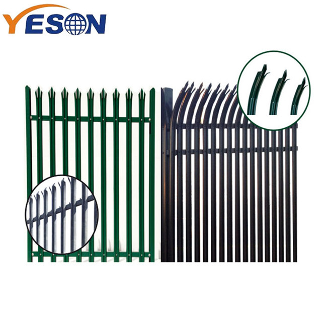 Hot New Products Galvanized Palisade Fence - palisade fence – Yeson detail pictures