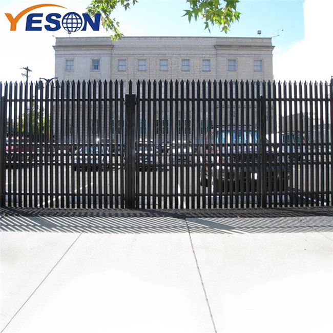 Hot New Products Galvanized Palisade Fence - palisade fence – Yeson